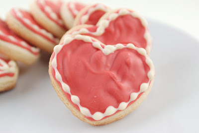 Cake On The Brain White Chocolate Valentine S Sugar Cookies