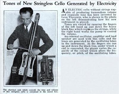 Theremin Cello