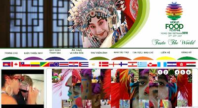 website lễ hội Văn hóa ẩm thực thế giới