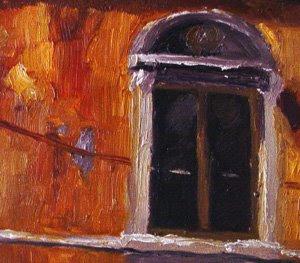 Detail of Georgia's Window by Jason Bombaci