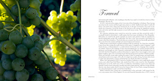 a spread from Snow's new book on NH Wineries