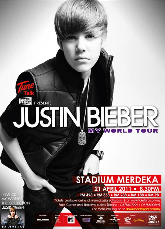 justin bieber 2011 tour photos. justin bieber concert pictures
