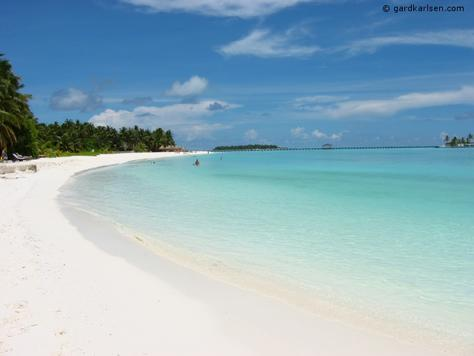 maladewa beach