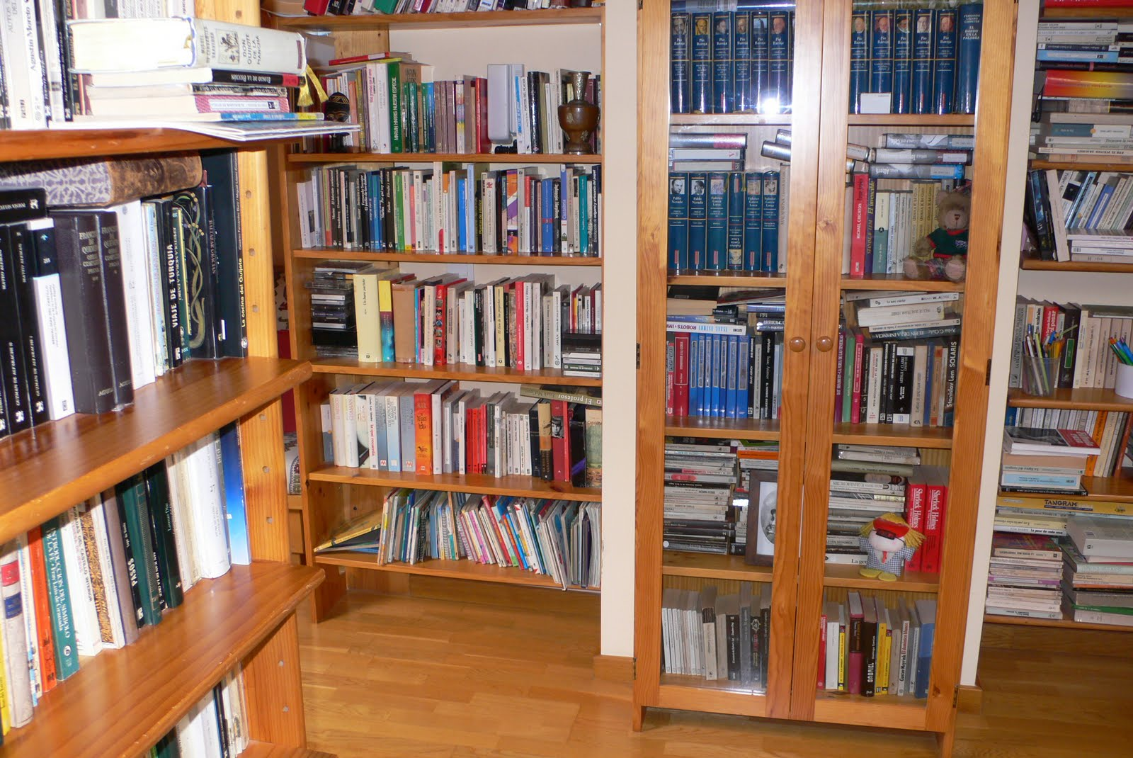 PROFESOR EN LA SECUNDARIA: Mi biblioteca