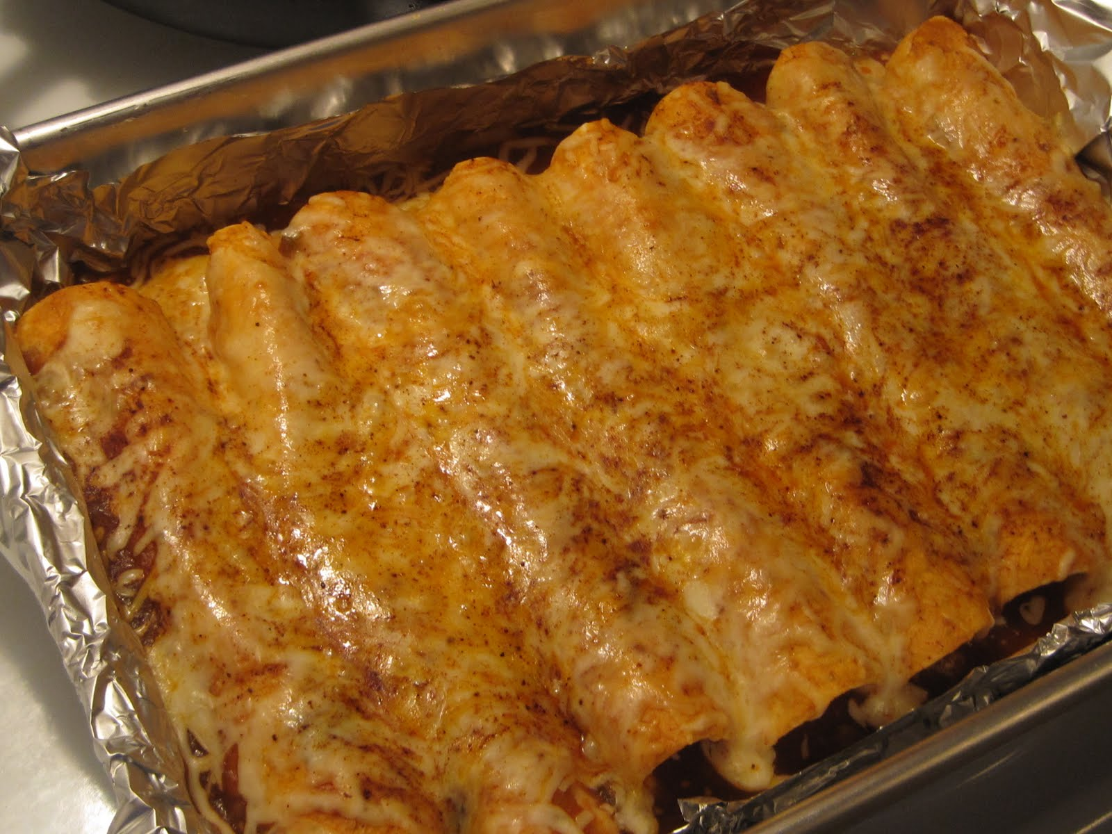 Foodie Wannabe...Recipes for Daily Living: Easy Beef Enchiladas