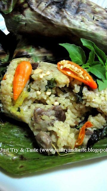 Resep pepes ikan teri variasi bumbu pedas. Resep Nasi Pepes Bakar Just Try Taste