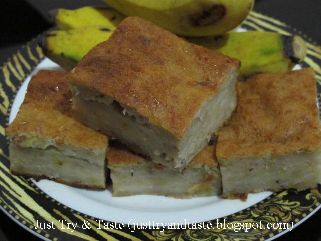 Resep diadaptasikan dari Cafe Sempoi - Sempoi Bengkang Pisang (Banana ...