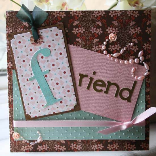 ... your best friend, craft shopping, having cake and coffee - and of