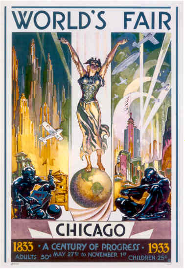 how the chicago worlds fair reflected america Petition signed by thomas a edison for sunday openings at the world  population, visited the world's columbian exposition in chicago  fair was the world in.