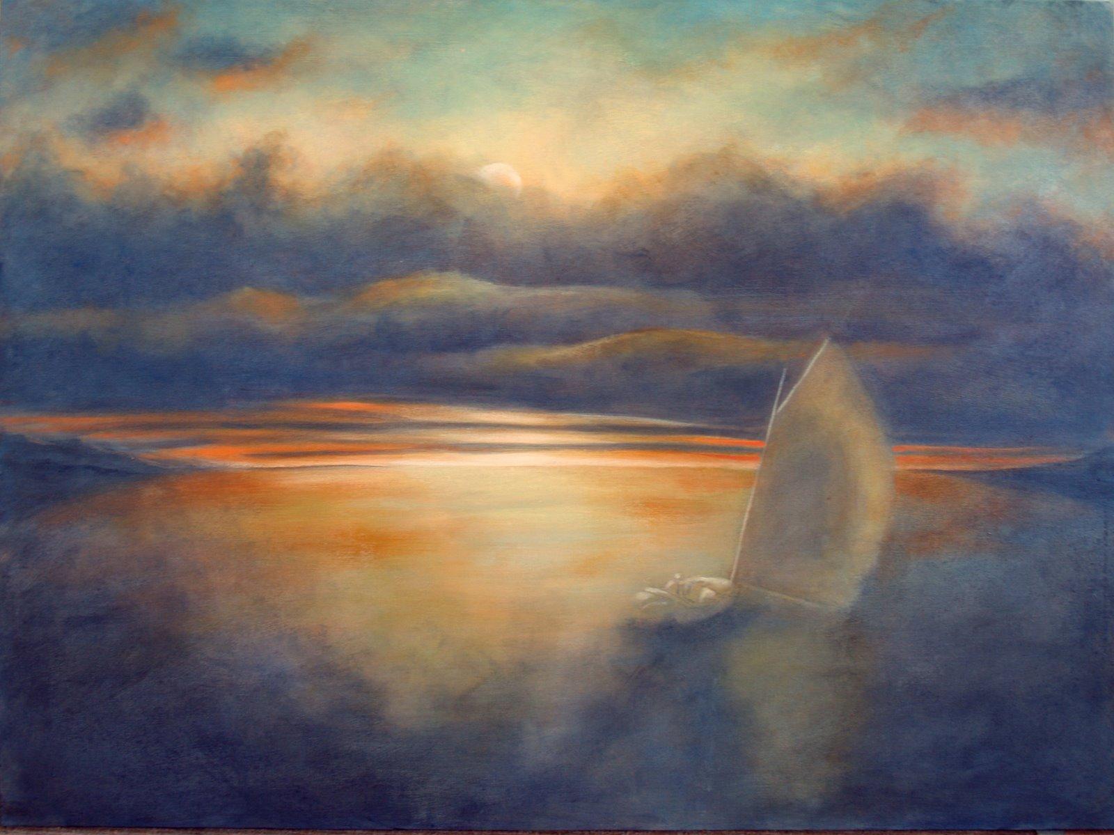Catboat 14—Big Evening Cloud
