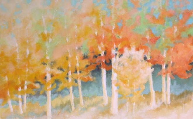 Little Fall Birches  •