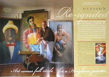 """South Shore Living"" features artist Jack Dickerson in 2004"