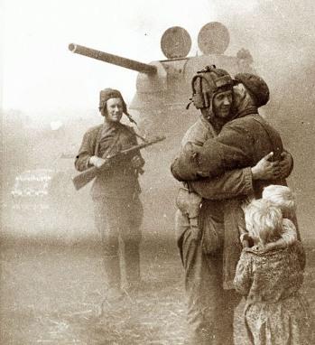Defensa de Stalingrado-Soldados rusos