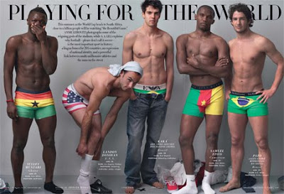 Athletes and photo shoots don't mix: FIFA World Cup Edition