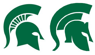 Michigan State fans go Sparta over hew logo