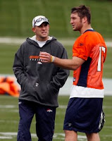 McDaniels and Tebow sittin' in a tree...