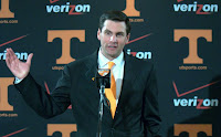 I saw Derek Dooley drinking a pina colada at Trader Vic's, and his hair was perfect