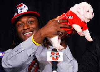 "The ""Draft Isaiah Crowell's bulldog puppy to be Uga IX"" campaign has already begun."