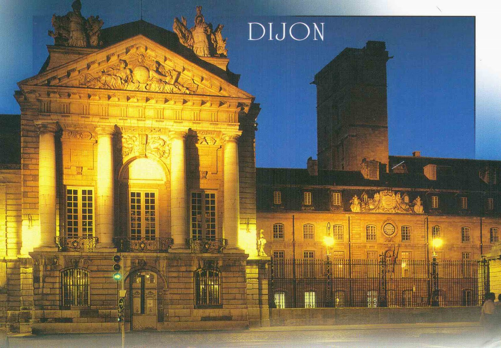 Terence 39 s collections postcard from dijon france - Institut culturel italien paris ...