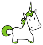 Green Horned Unicorn