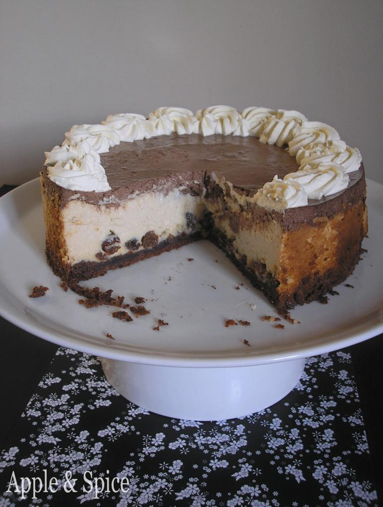 Apple & Spice: Rum & Raisin Cheesecake