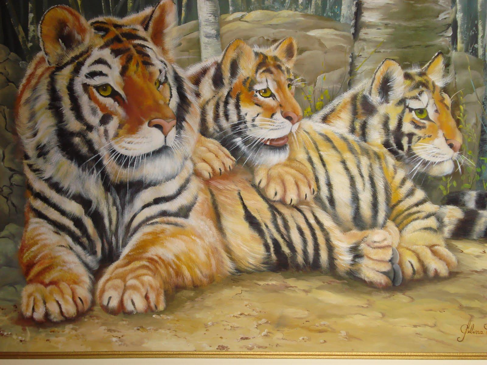 Família de tigres