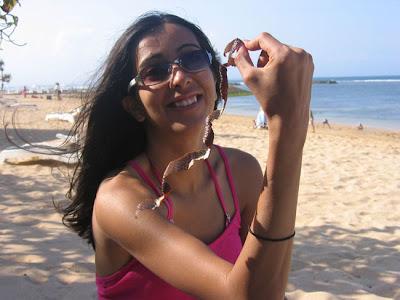 Indian young sizzling desi girls in two piece bikini Photos 5