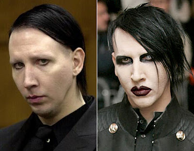 marilyn manson with no makeup