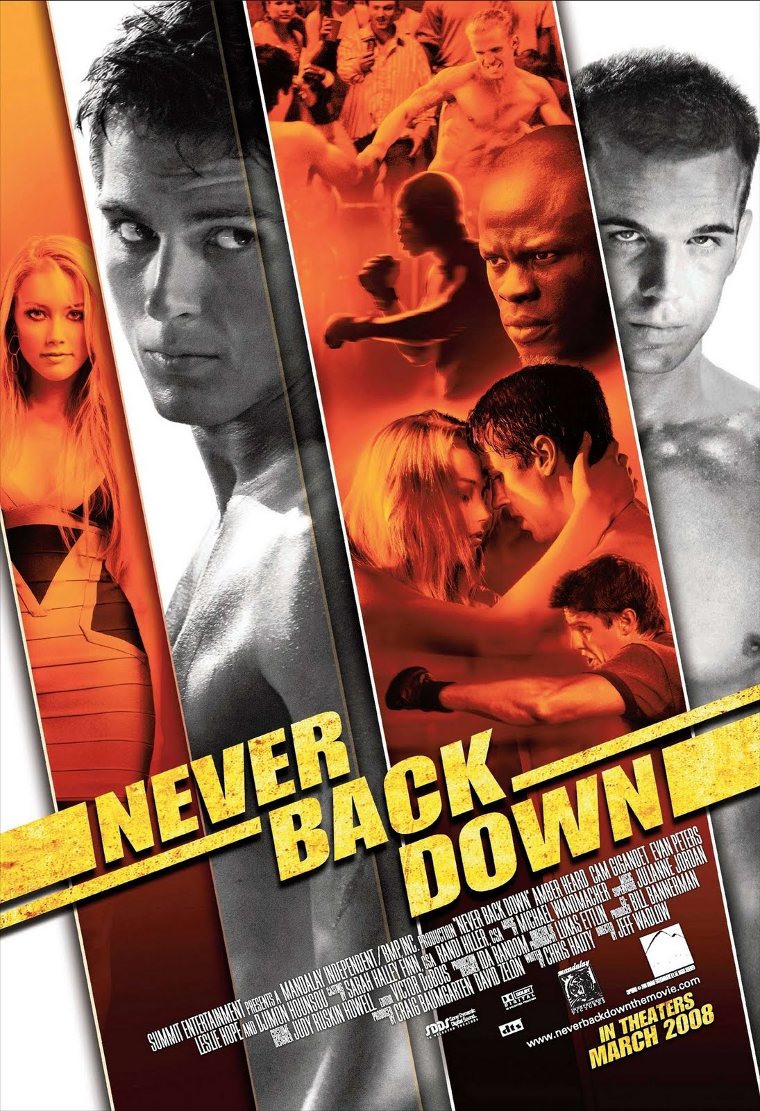 "never back down review Good review michael jai white has definitely been blooming these days i'm looking forward to a black dynamite ii (this is my favorite of the ""grindhouse"" fakes coming out since qt and rr."