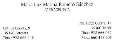 FARMACIA DE ARTENARA