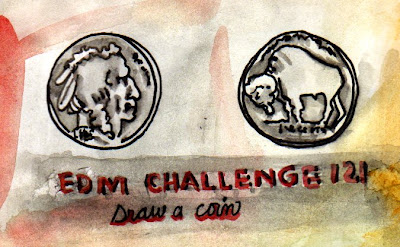 how to draw a coin