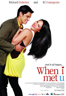 KC Concepcion & Richard Gutierrez in When I Met You