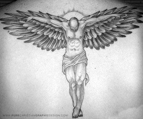 christian tattoo. Angel Tattoo; christian