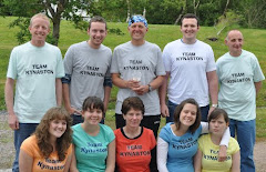 John with support team - 2009
