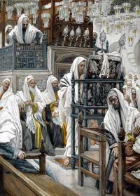 Jesus en la sinagoga. James Tissot. 1894