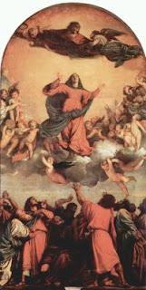 Asuncion de María. Tiziano