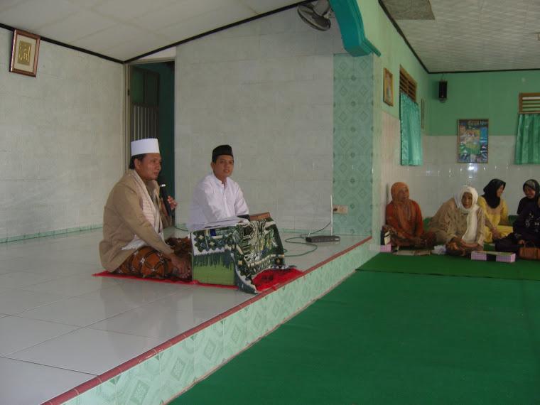 Sosialisasi Caleg Di MT. Ummahatus Sholihah Medan Satria