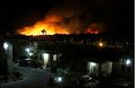 Se incendia Estero de San José