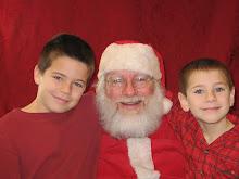 Seeing Santa 2008