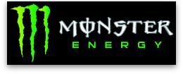 Monster Energy sponsor