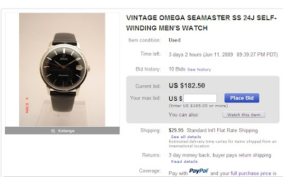 Fake Omega Seamaster Watch
