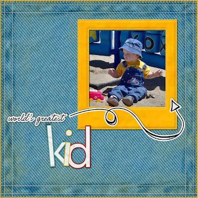 Детские скрап-страницы, оформление альбома