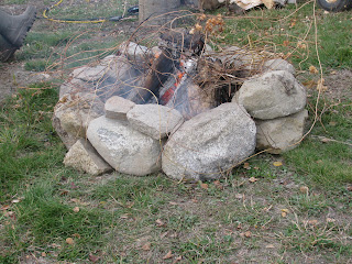  An Afternoon Around the Fire Pit