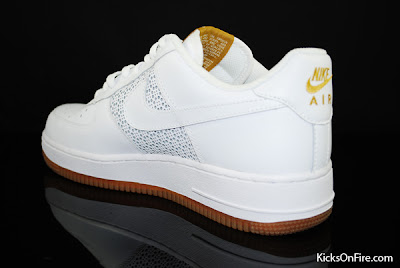 Air Force 1 White Gum Sole