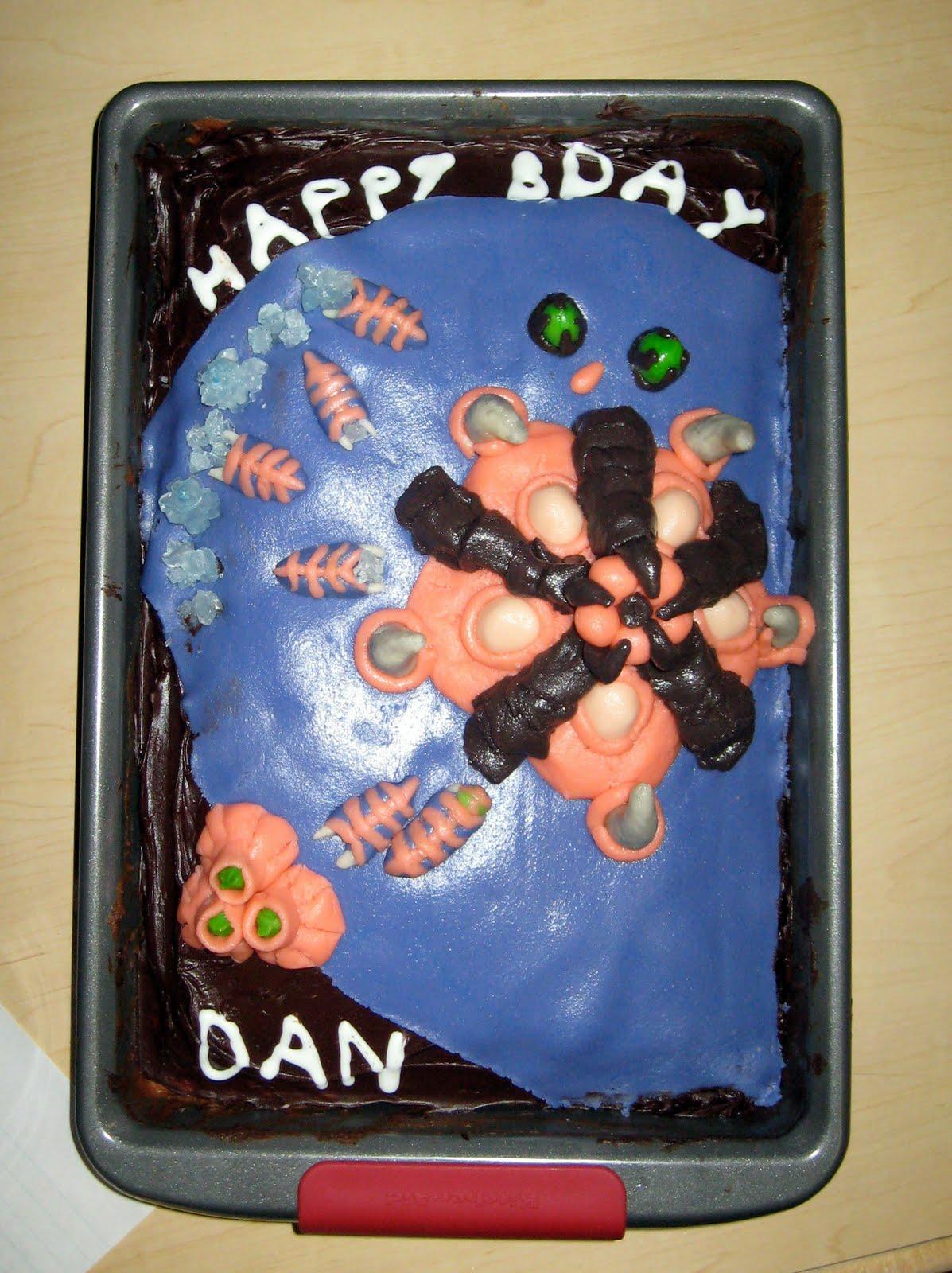 Dan Cake Artist Maine : Art by Lauren Brackenbury: Starcraft Cake - Happy Birthday ...