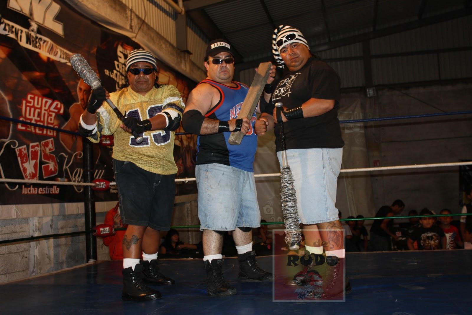Luchadores Los Porros Pleito Entre Los Porros