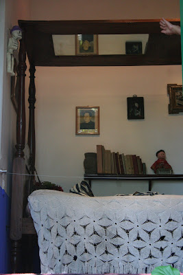 Frida Kahlo's bed