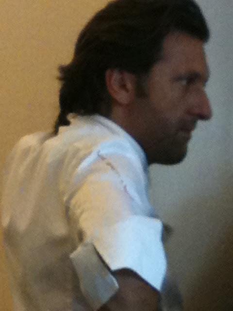 I 'papped' the chef Bruno Doucet, la regalade, paris