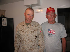 Thank you for serving our country, Kevin and dad!