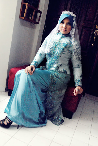 Jubah Pengantin Baju Kurung Moden Pengatin Muslimah | Pelauts.Com